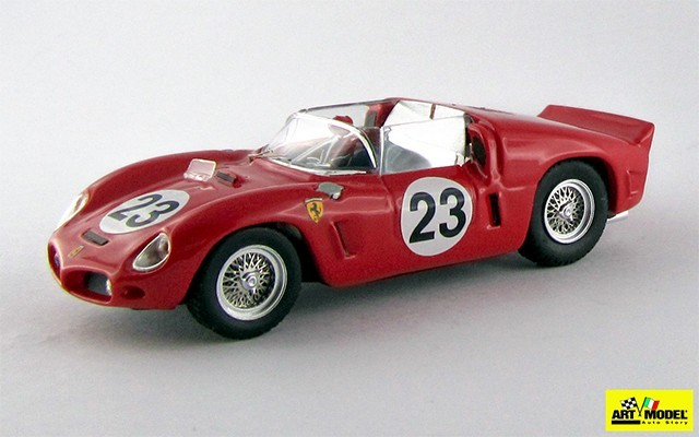 ART279 - FERRARI DINO 246 SP - Le Mans 1961 - Von Trips / Ginther