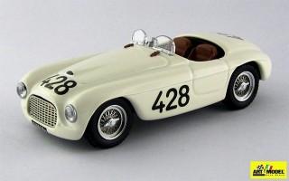 ART280 - FERRARI 166 MM BARCHETTA - Targa Florio 1950 - Musso / Gaboardi