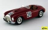 ART286 - FERRARI 166 MM BARCHETTA - Le Mans 1950 - Rubirosa/Leygonie