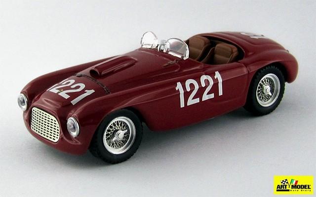 ART290 - FERRARI 195 S BARCHETTA - Coppa della Toscana 1950 - Serafini/Salami