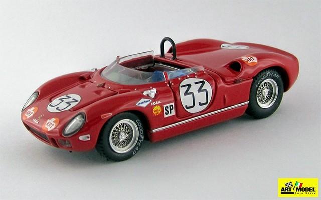ART301 - FERRARI 275 P - Sebring 1965 - Maglioli/Baghetti