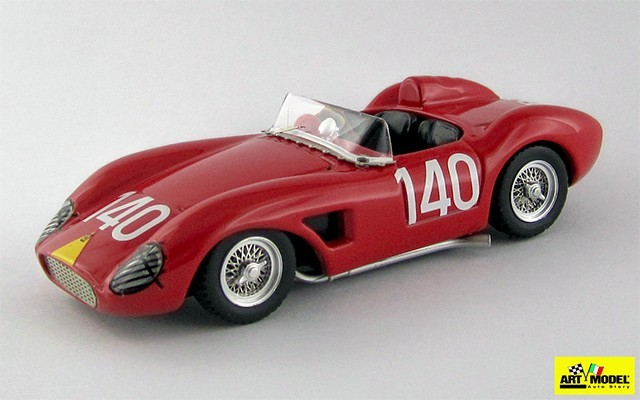 ART312 - FERRARI 500 TRC - Targa Florio 1959 - Principe Starrabba / Lo Coco