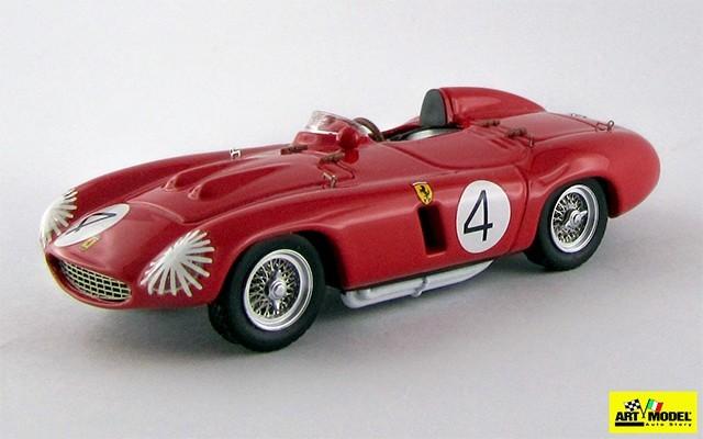 ART316 - FERRARI 750 MONZA - Tourist Trophy 1955 - Castellotti / Taruffi