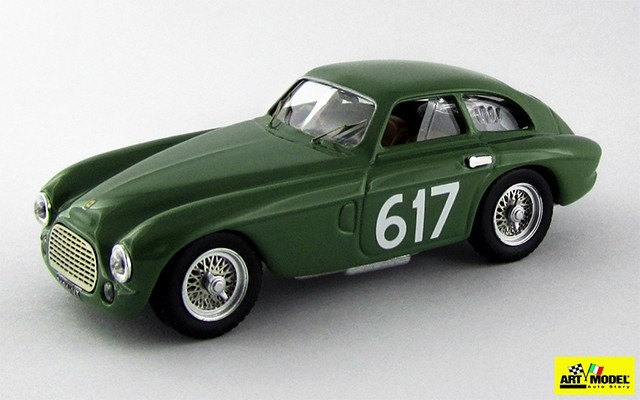 ART324 - FERRARI 212 EXPORT BERLINETTA - Mille Miglia 1953 - Gerini/Donazzolo