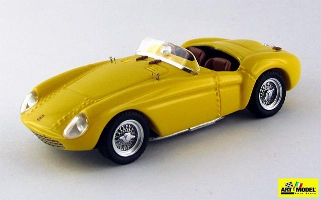 ART331 - FERRARI 500 MONDIAL - 1954 - Giallo