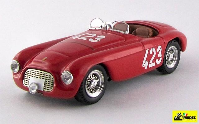 ART345 - FERRARI 166 MM BARCHETTA - Giro di Sicilia 1952 - Marzotto / Marini