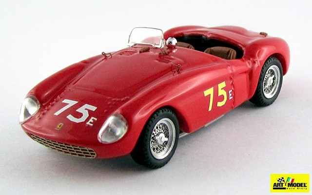 ART351 - FERRARI 500 MONDIAL - Santa Barbara S+1.5 1955 - Bill Pringle