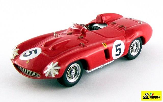 ART353 - FERRARI 850 S - Tourist Trophy 1955 - Maglioli/Trintignant