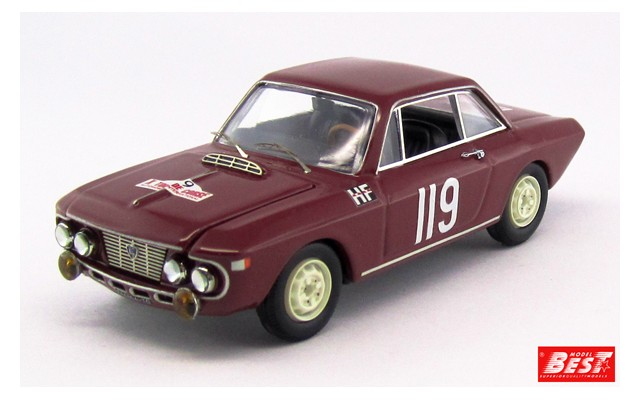 LANCIA FULVIA COUPE' 1.2 HF - Tour de Corse 1965 - Cella/Gamenara