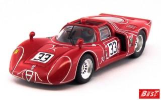 BEST9640 - ALFA ROMEO 33.2 - 6 Hours Watkins Glen 1968 - Kwech / Martino
