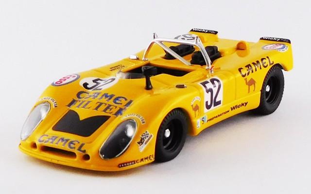 BEST9642 - PORSCHE 908/02 FLUNDER - Le Mans 1973 - Wicky/Cohen Olivar/Carron