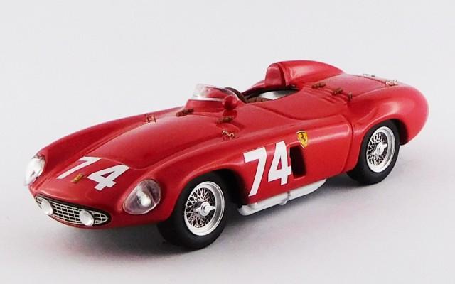 ART205 - FERRARI 750 MONZA - Targa Florio 1955 - Pucci / Cortese