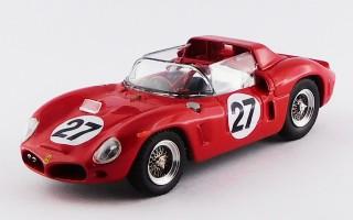 ART212 - FERRARI DINO 268 SP - Le Mans 1962 - Scarfiotti/Baghetti