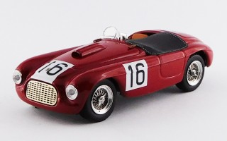 ART227 - FERRARI 166 MM BARCHETTA - Paris 1950 - Chinetti / Lucas