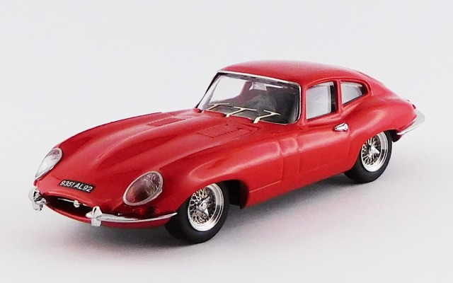 BEST9012/2 R - JAGUAR E TYPE COUPE' - 1962