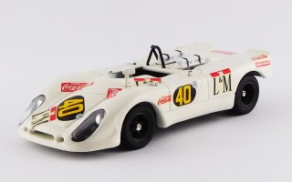 BEST9107 - PORSCHE 908-02 FLUNDER - Temporada 1970 - De Cadent / Pairetti