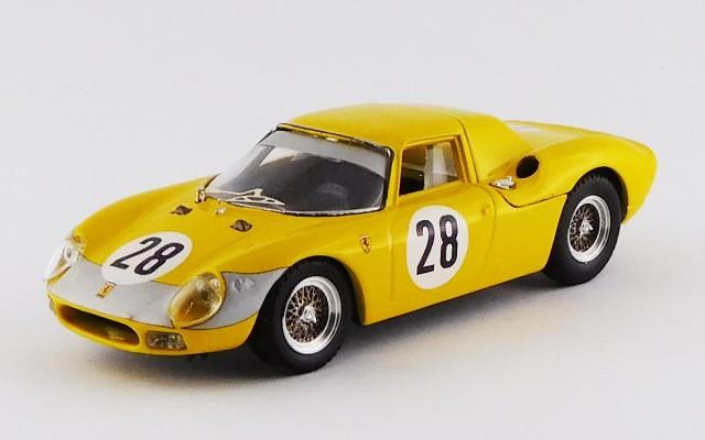 BEST9166 - FERRARI 250 LM - Parigi 1966 - Gosselin / Noblet