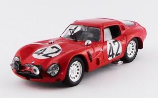 """BEST9184 - ALFA ROMEO TZ2 - Le Mans 1965 - Zeccoli / """"Geki"""""""