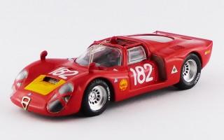 BEST9191 - ALFA ROMEO 33.2 - Targa Florio 1968 - Baghetti / Biscaldi