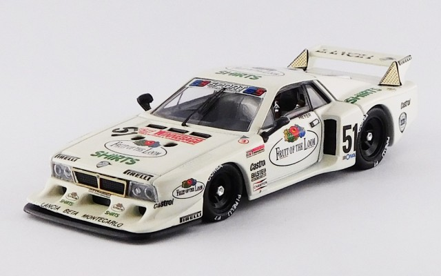 BEST9197 - LANCIA BETA MONTECARLO TURBO - Zolder 1980 - Heyer