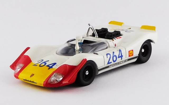 BEST9209 - PORSCHE 908-02 - Targa Florio 1969 - Larrousse / Linz