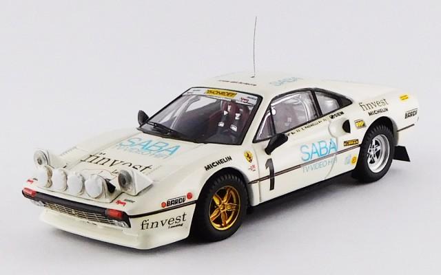 BEST9211 - FERRARI 308 GTB - Targa Florio 1983 - Tony / Radaelli