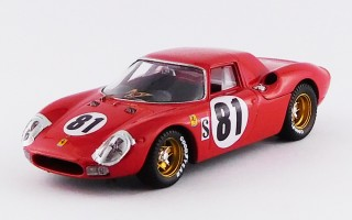 BEST9266 - FERRARI 250 LM - Daytona 1968 - Piper / Gregory