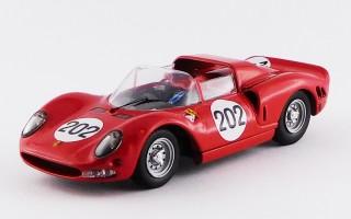BEST9268 - FERRARI 275 P2 - Targa Florio 1965 - Parkes / Scarfiotti
