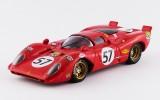 BEST9290 - FERRARI 312 P COUPE' - Le Mans 1970 - Adamovicz / Parson