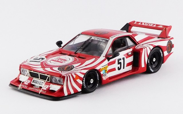 BEST9302 - LANCIA BETA MONTECARLO TURBO - Le Mans 1980 - Darniche / Fabi / Heyer