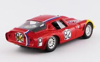 BEST9322 - ALFA ROMEO TZ2 - Nurburgring 1967 - Trosch / Pilette