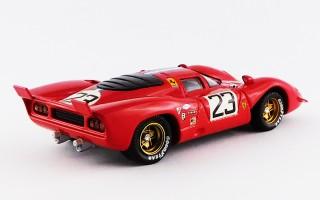 BEST9449 - FERRARI 312 P COUPE' - Sebring 1970 - Chinetti J / Adamowicz