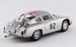 BEST9518 - PORSCHE 356B CARRERA GTL ABARTH - Targa Florio 1961 - Strahle / Pucci