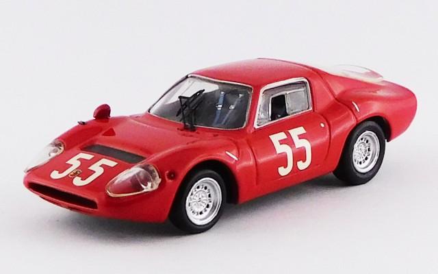 BEST9559 - ABARTH OT 1300 - Monza 1966 - Baghetti / Cella / Fischhaber / Furtmayr