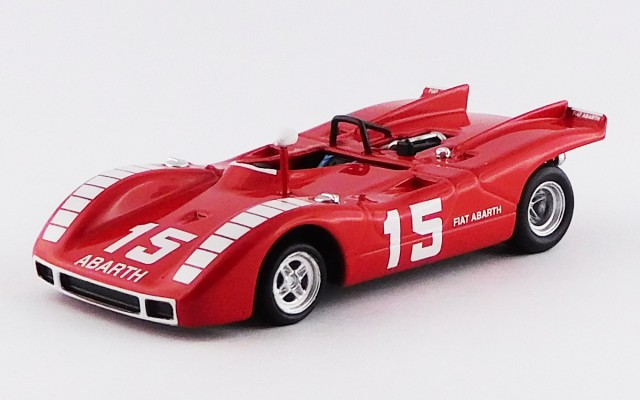 BEST9565 - ABARTH 2000 SP - Nurburgring 1970 - Ahrens Jr.