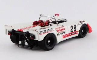 BEST9581 - PORSCHE 908-02 FLUNDER - Le Mans 1971 - Wicky / Olivar