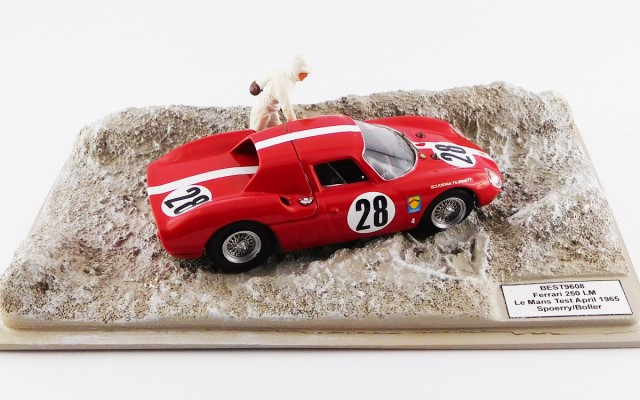 BEST9608 - FERRARI 250 LM - Le Mans 1965 - Spoerry / Boller