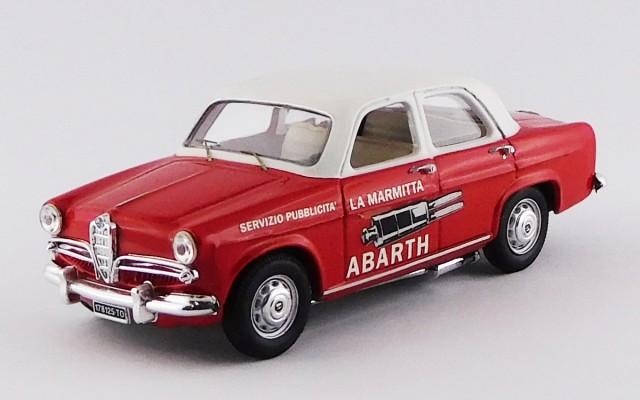 RIO4218 - ALFA ROMEO GIULIETTA BERLINA - 1957 - Pubblicitˆ Abarth