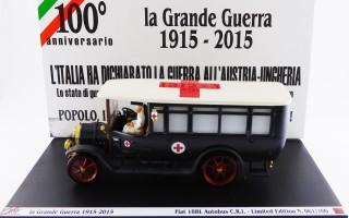 RIO1915-2-D - FIAT 18 BL - 100° Anniversario - La Grande Guerra