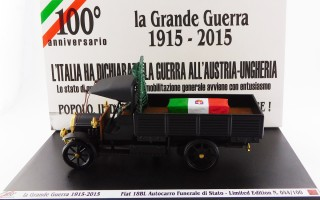 RIO1915-3-D - FIAT 18 BL - 100° Anniversary - Great War