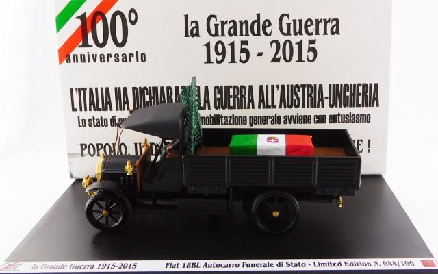 RIO1915-3-D - FIAT 18 BL - 100¡ Anniversario - La Grande Guerra