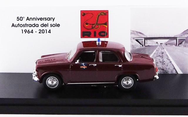 RIO1964/1 - ALFA ROMEO GIULIETTA BERLINA - 1964 - 50¡ Anniversario Autostrada del Sole