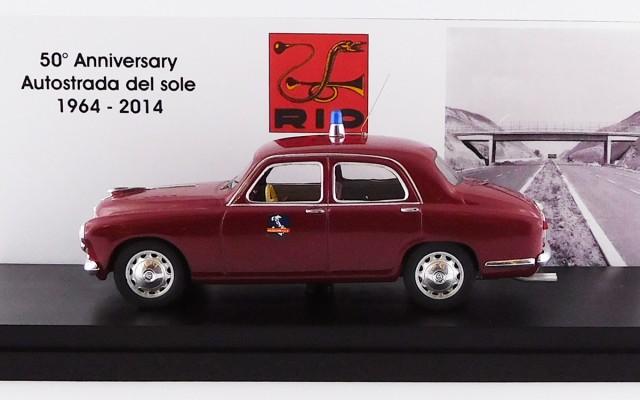 RIO1964/2 - ALFA ROMEO 6C 1900 - 1964 - 50¡ Anniversario Autostrada del Sole