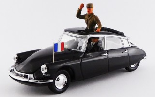 RIO4114/P - CITROEN DS 19 - 1960 - General de Gaulle