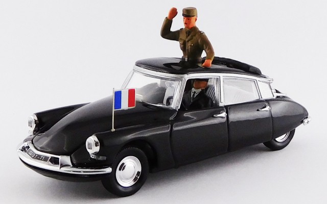 RIO4114/P - CITROEN DS 19 - 1960 - General de Gaulle