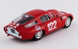 BEST9649 - ALFA ROMEO TZ1 - Targa Florio 1966 - Lo Piccolo/Sutera