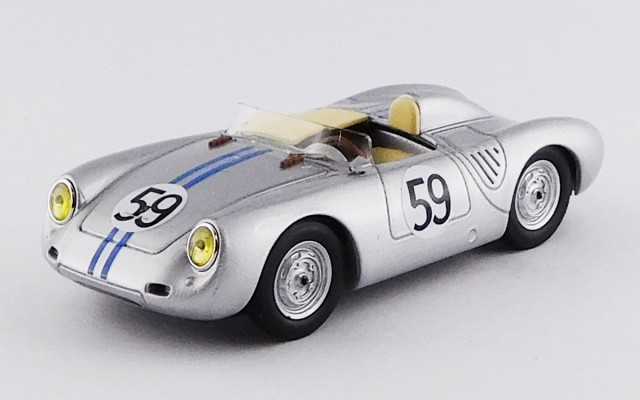 BEST9652 - PORSCHE 550 RS - Le Mans 1958 - Schiller/Tot