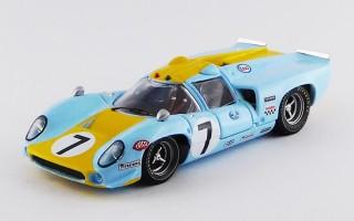 BEST9371 - LOLA T 70 COUPE' - Le Mans 1968 - Norinder / Axelsson