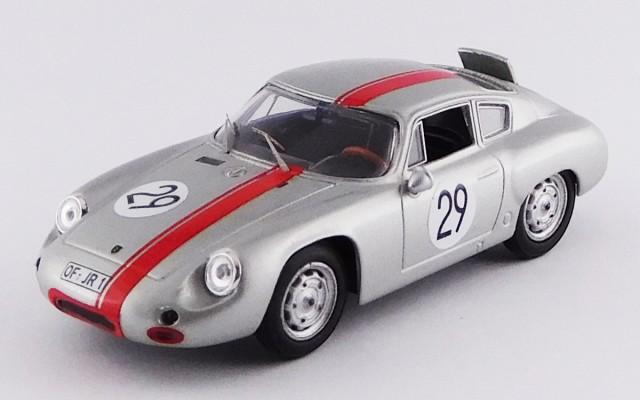 BEST9655 - PORSCHE 356 ABARTH - 1000 Km. Nürburgring 1963 - Rank/Wutherich
