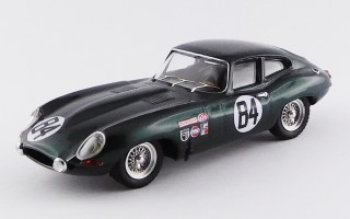 BEST9657 - JAGUAR E TYPE COUPE' - Sebring 12 Hours 1968